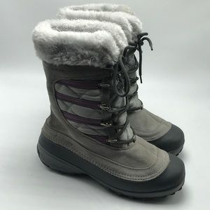 Columbia Techlite Omniheat Lace up Winter Boots 9